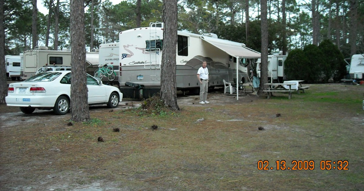 Joe Diane Mallery S Adventure Modern Day Gypsies Rustic Sands Campground Mexico Beach Fl Days 102 104