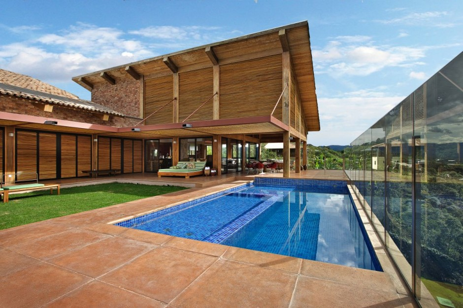 Mountain House Nova Lima In Minas Gerais Brazil Most