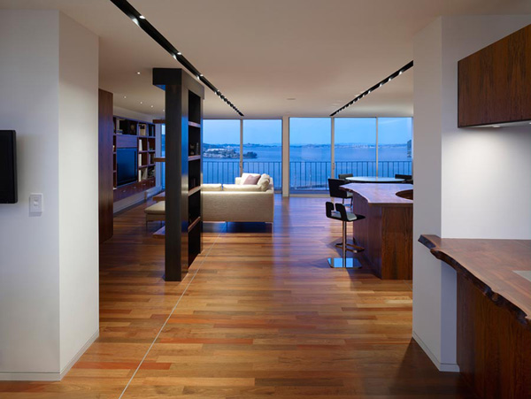 Luxury penthouse apartment interior San Francisco