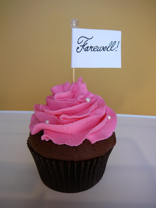 Yummy Mummy Cupcakes Farewell Cupcake