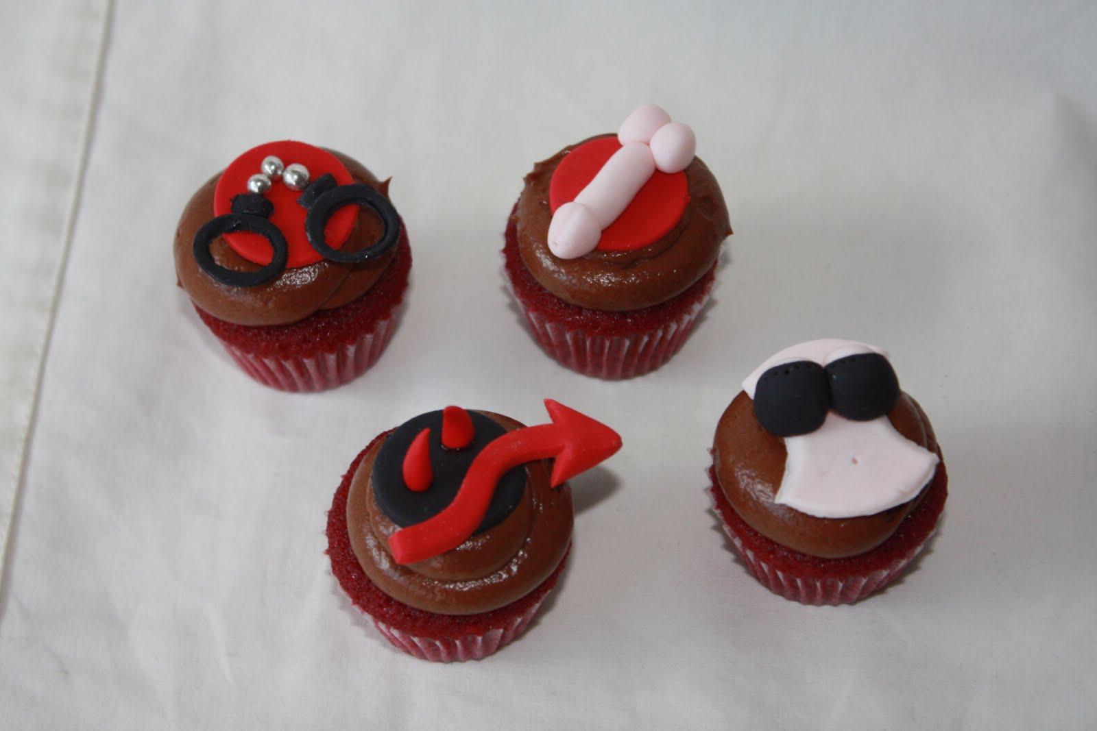 Yummy Mummy Cupcakes Bachelorette Mini Cupcakes
