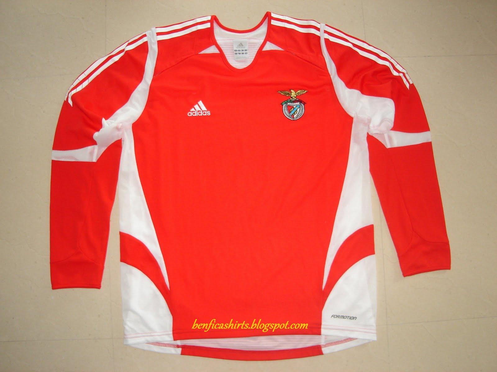 Sport Lisboa e Benfica Shirts (Camisolas do S.L. Benfica)  2005 ... 7d19fe5bf1ba6
