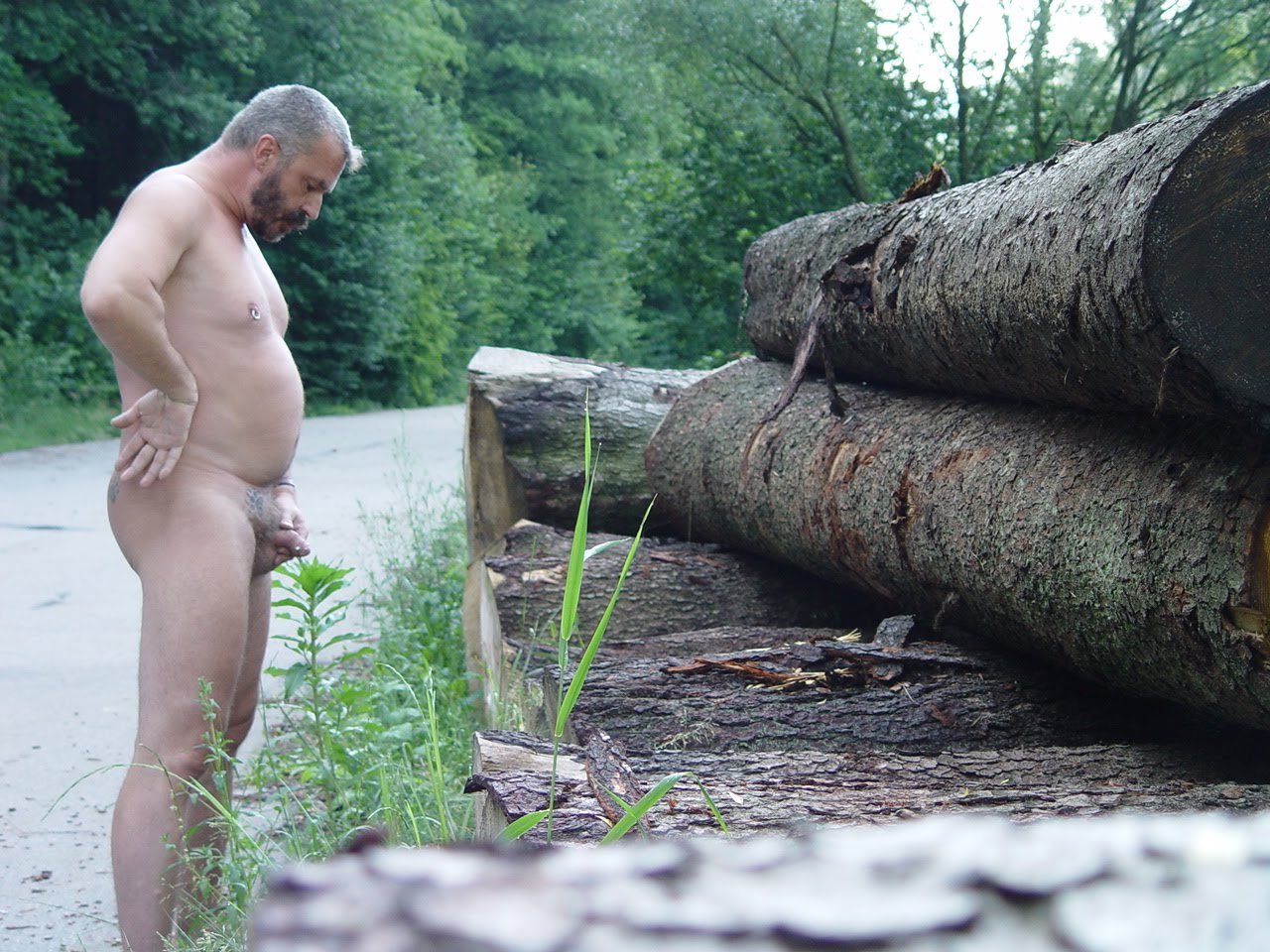 The Naked male truckers pissing share