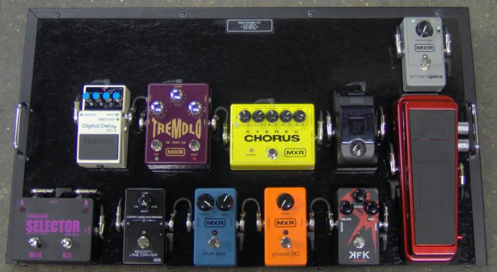 Pedalboards Of The Stars Pics My Les Paul Forum