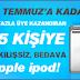 Vip Dükkan'dan ipod kazan