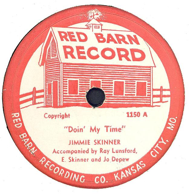The Skinner Barn: HILLBILLY-RESEARCHER: JIMMIE SKINNER On RED BARN