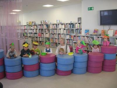 Biblioteka Dla Dzieci Abecadło W Olsztynie Inscenizacja