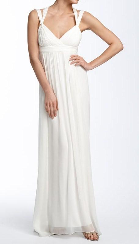 witte lange jurken