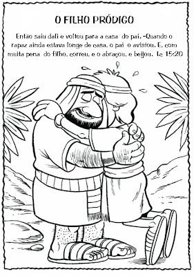 Resultado de imagem para PARABOLA DO FILHO PRÓDIGO - pelos caminhos da evangelização -
