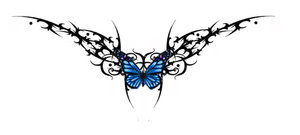 Nice Butterfly Tattoo With Image Butterfly Tattoos Design Picture 9