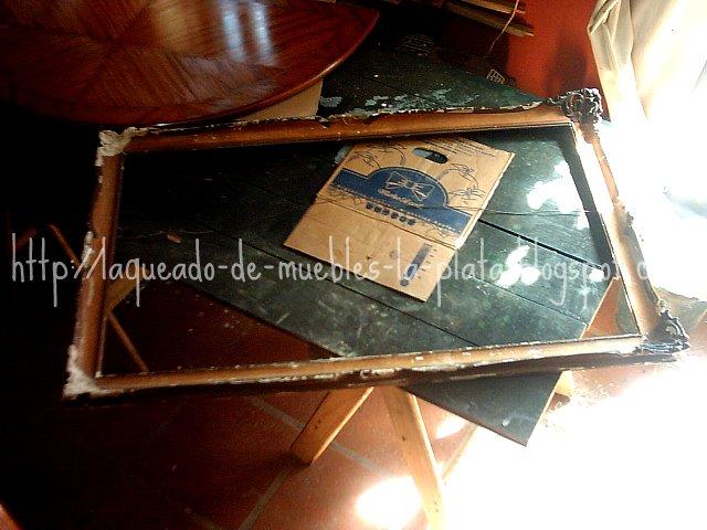 Reparar molduras de marcos antiguos
