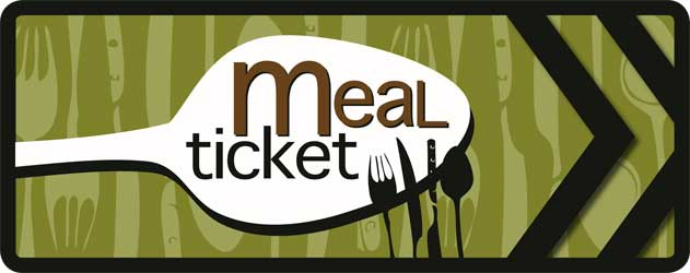 Free Meal Ticket Template  Lunch Ticket Template