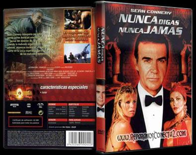 Nunca Digas Nunca Jamás 1983 | Carátula | cine clásico