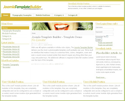 Joomla template creator free for Joomla template builder software