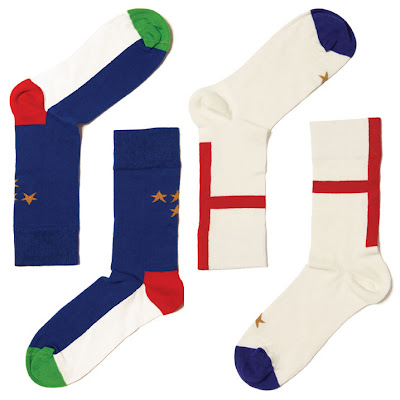 Alecca Rox: Happy Socks for the World Cup