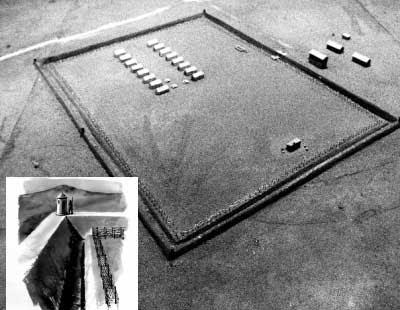 Planta do Campo Penal do Tarrafal