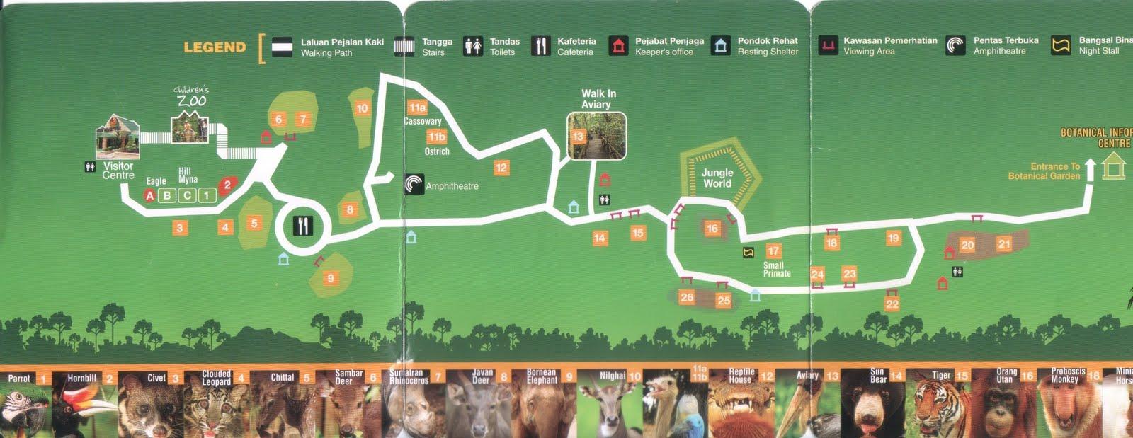 Borneo Reflections: Lok Kawi Wildlife Park