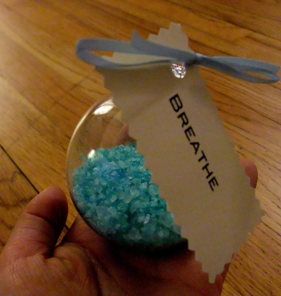 Gift Packaging Ideas Glass Bubble Bath Salts