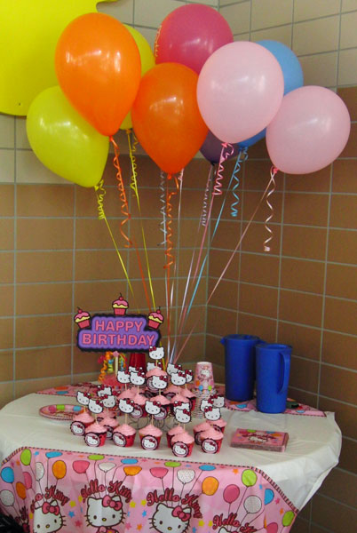 Pretty Paper Ribbons Birthday Party Day