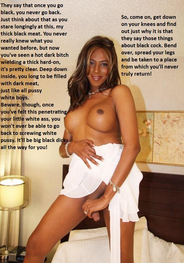 Ebony shemale cuckold