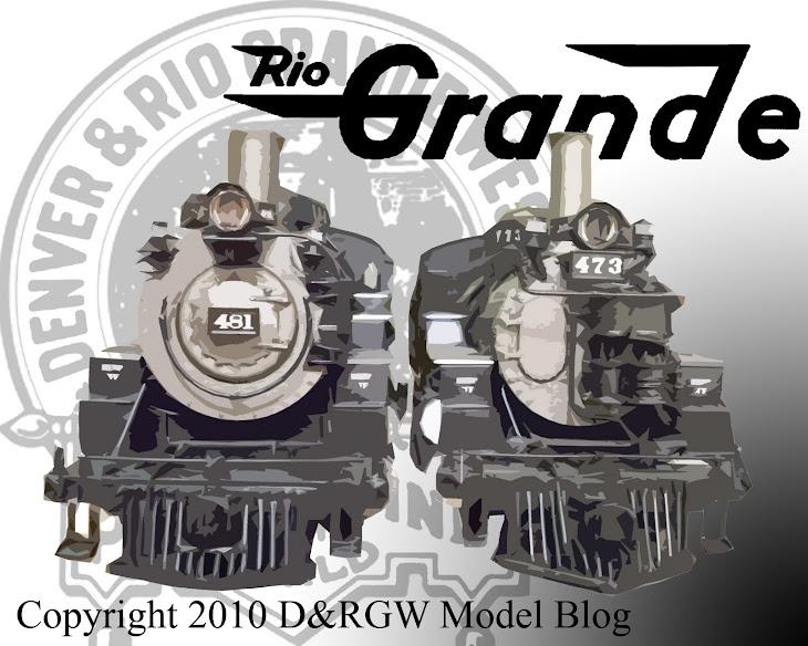 D&RGW Model Railroad: June 2008