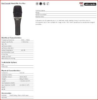 database microfoni