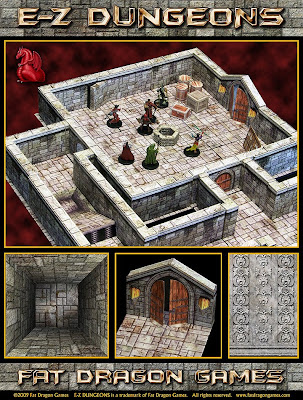 The Lair of the Evil DM: Ennie Nominee - Fat Dragon Games