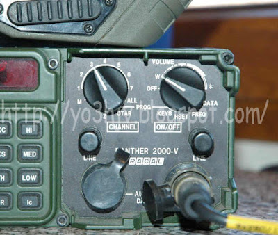 YO3HJV: RACAL Panther 2000-V - Tactical radio