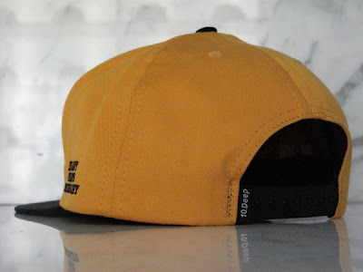 d7d9ce55fdc6b HALL OF FAME  10 DEEP   BY ANY MEANS SNAPBACK (BLACK  GOLD)