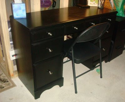 Goodwill desk redo