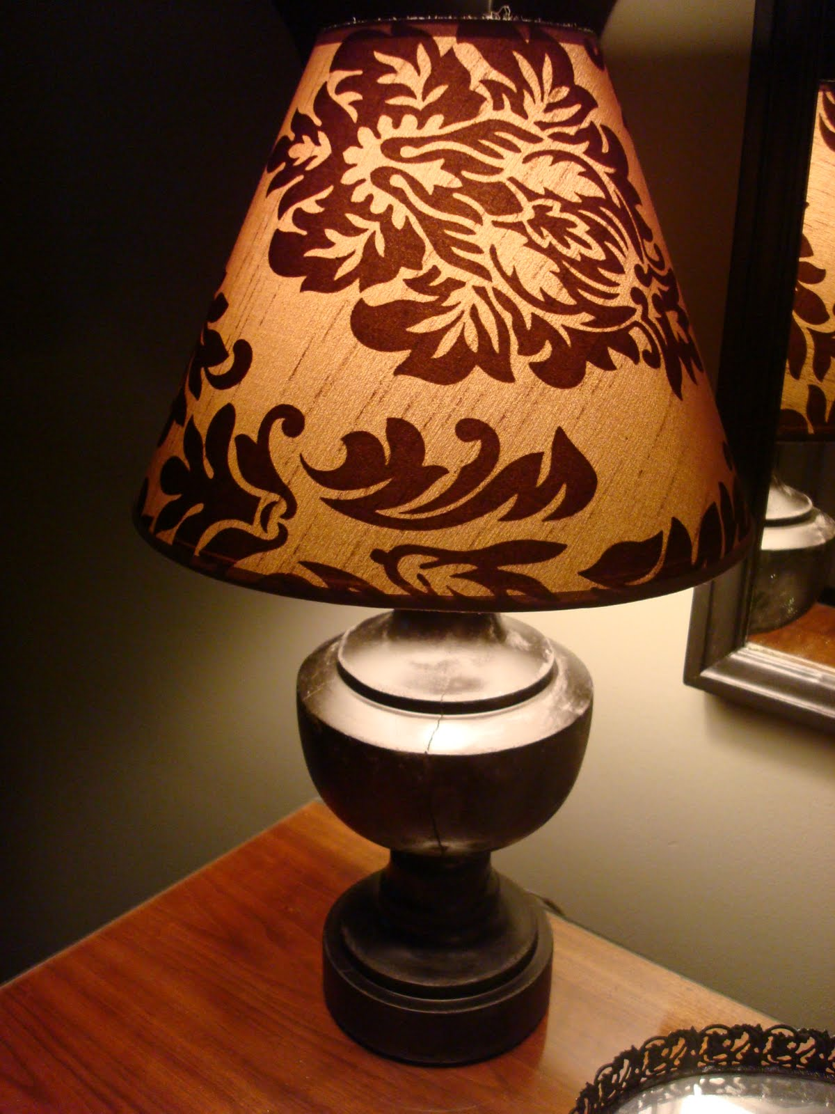 oil rubbed bronze paint lamp