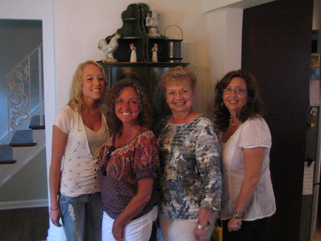 Family picture - Me, My mom, my sunt and my cousin