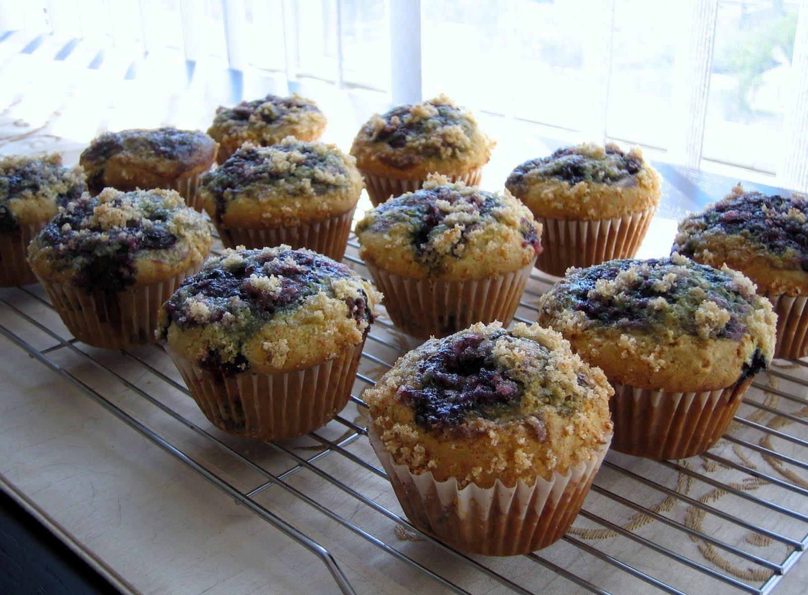 Benevolent Baking: Amazing Blueberry Muffins! - photo#24