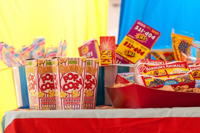 Circus Circus Food Menu