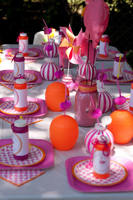 Pink Flamingo 1st Birthday Party
