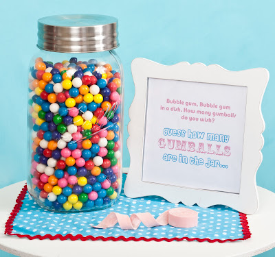 Kara S Party Ideas Gumball Birthday Party Styled For Hgtv Kara S Party Ideas