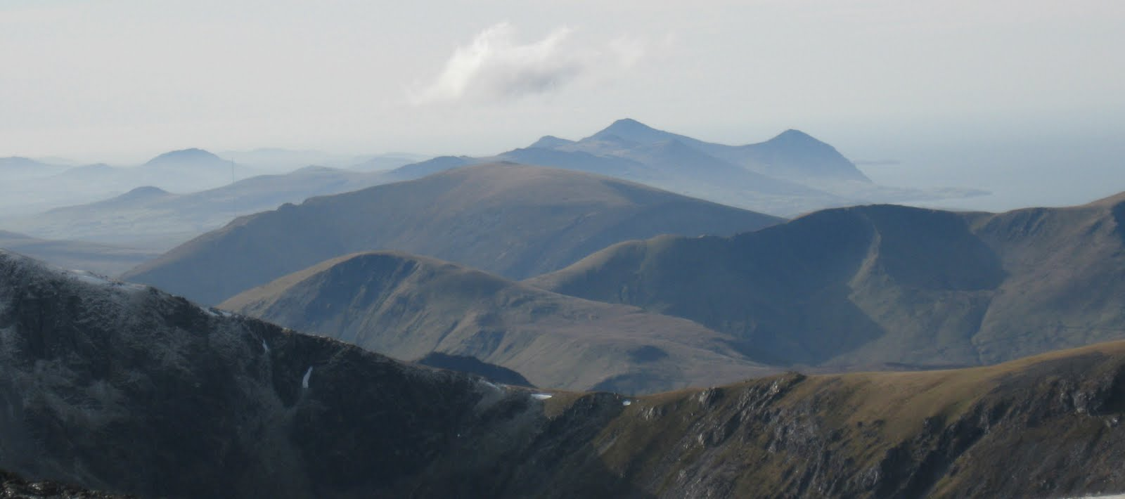 Andy mountains stunning weather on the carneddau - Met office mountain forecast ...