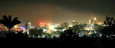 Kampala at night