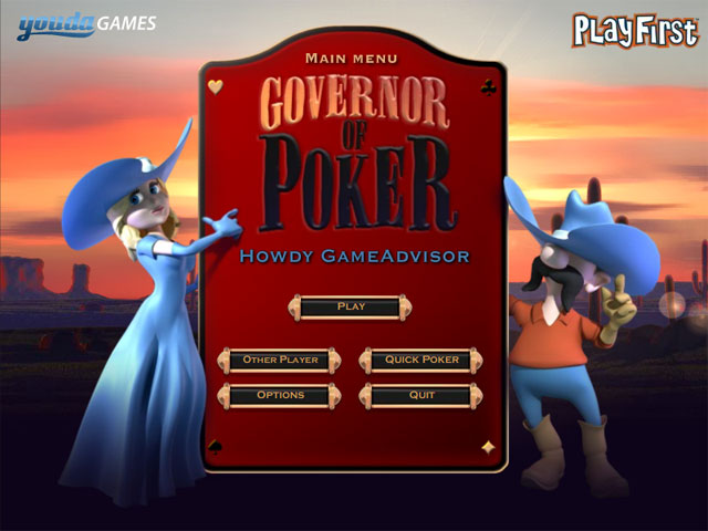 Governor of poker 3 free play online for free | youdagames. Com.