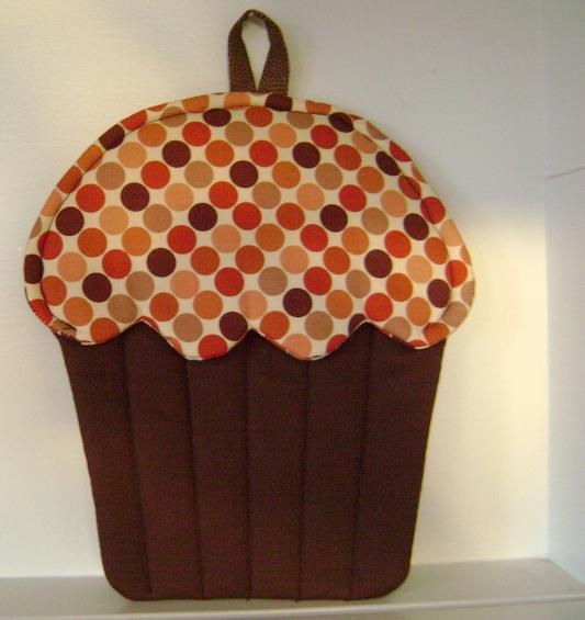 Homemade Pot Holders: Northern Deb Quilts: Making Cupcake Pot Holders