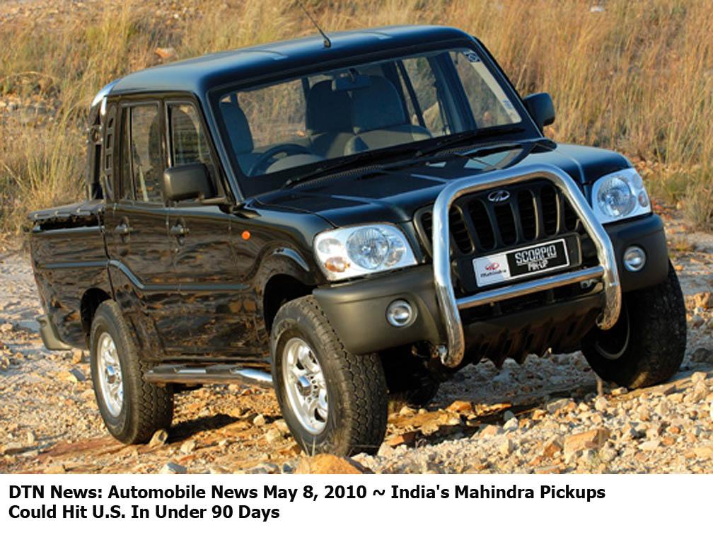 DEFENSE NEWS: DTN News: Automobile News May 8, 2010 ...