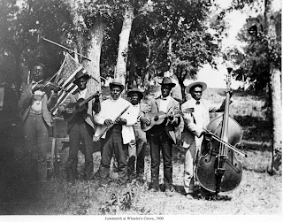Oldest known photograph of a Juneteenth celebration, in Austin, Texas, in 1900 - Austin Public Library image