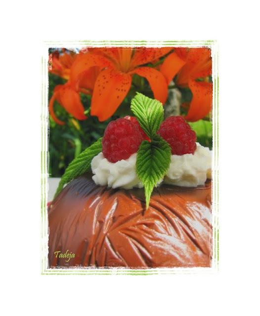 Mousse bombice s čokoladom i malinama