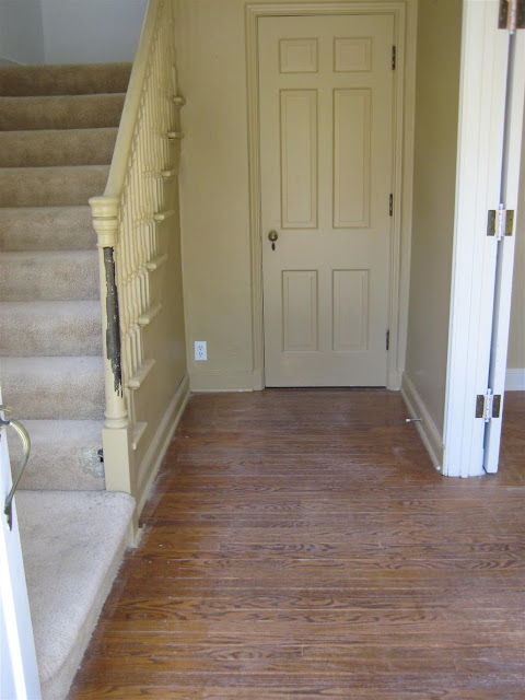 Russet Street Reno How To Own Your Ugly Wood Floors
