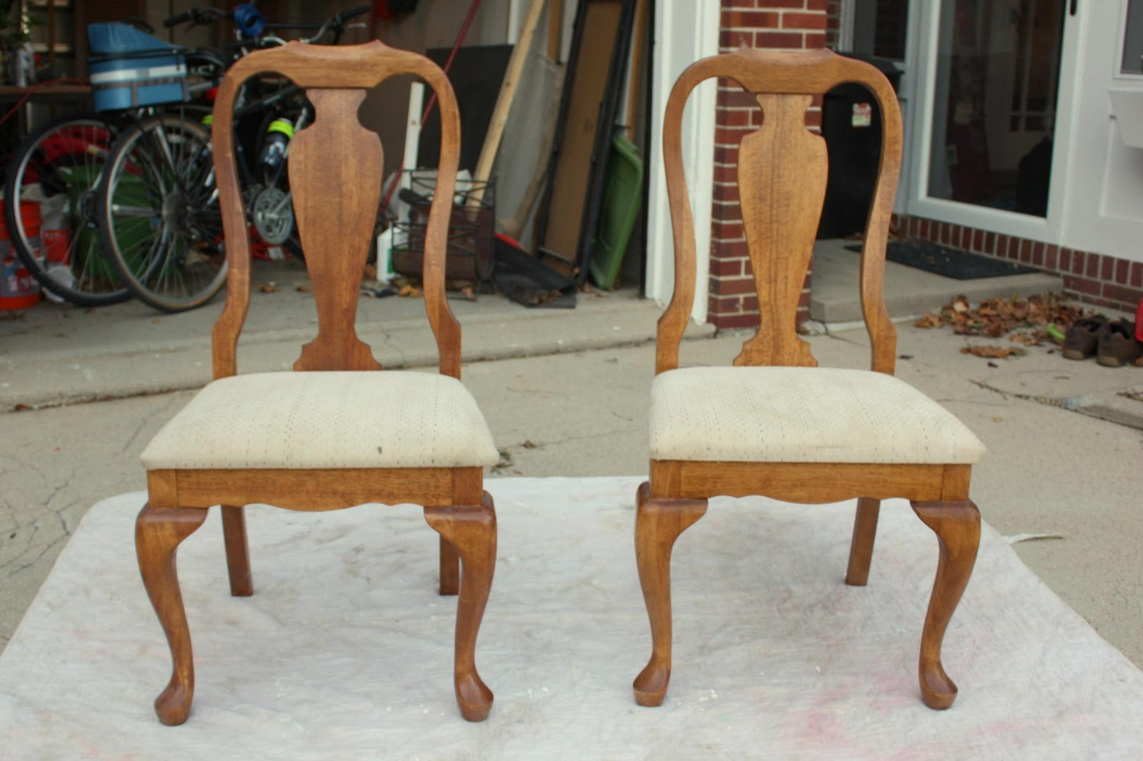 Chairs For Sale Craigslist Stretch Chair Covers In South Africa Russet Street Reno Recovering My