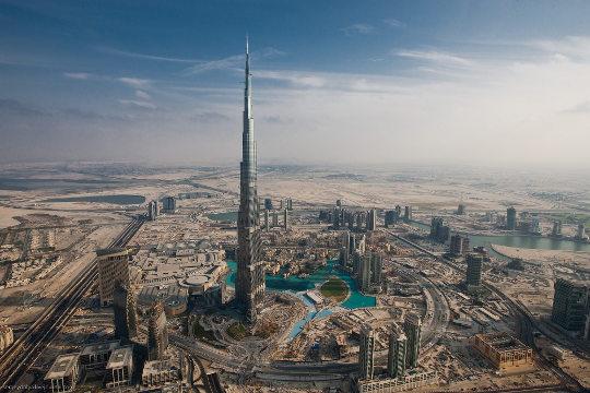 El Burj Al Arab, el edificio más alto del mundo en Dubai
