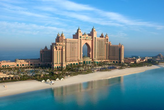 Otra vista del Hotel Atlantis en Dubai