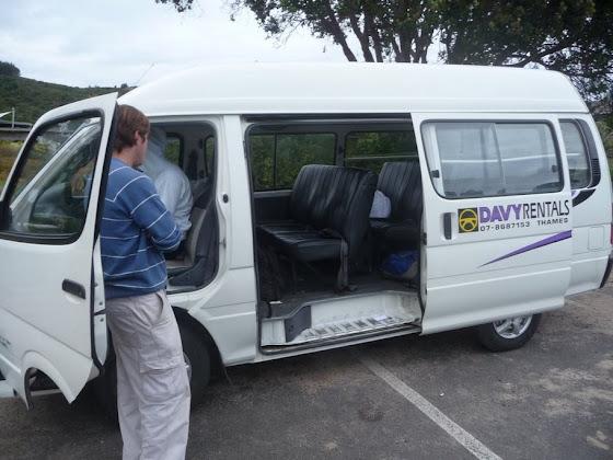 Viajando en Van por Coromandel en Nueva Zelanda