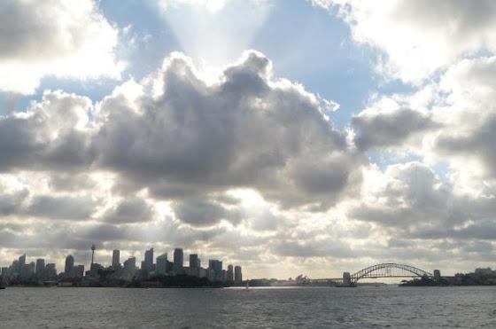 Aquí otra vista de Sidney