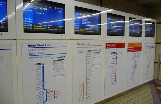 Estacion de trenes - Sydney